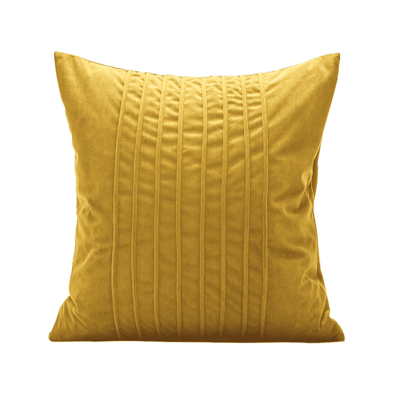 Monad Dropshipping 45x45 Custom Quilted Woven Pure Color Velvet Cushion Cover