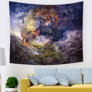 Monad Custom Size Wholesale Art Decor Painting Wall Hangings Tapestry