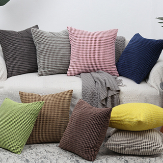 Savvydeco Wholesale Nordic Style Decorative Corduroy Velvet Cushion Cover for Sofa
