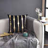 Monad Luxury Gold Applique Velvet In Stocks Christmas Home Decorative Sofa Cushion Cover