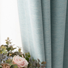 Monad European Style Fancy Custom Plain Color Fabric Black Out Window Curtain For Home