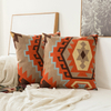 Monad 50x50 Boho Macrame Design Bohemia Geometric Embroidery Sofa Cushion Cover