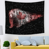 Monad Modern Star Animal Galaxy Colorful Wall Hanging Tapestry For Bedroom